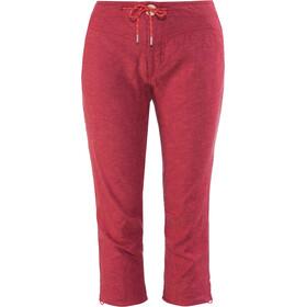 Millet Babilonia Hemp Pantaloni Capri Donna, rosso